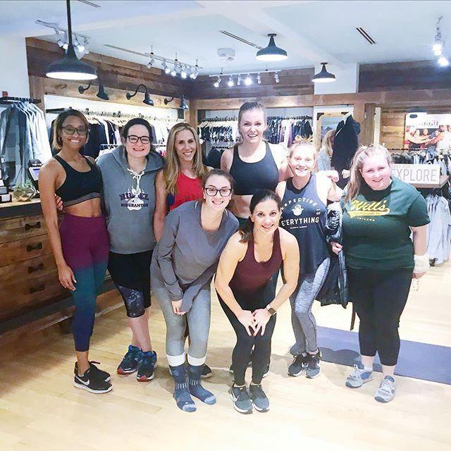 Hosting Women's Sweatworking at Athleta