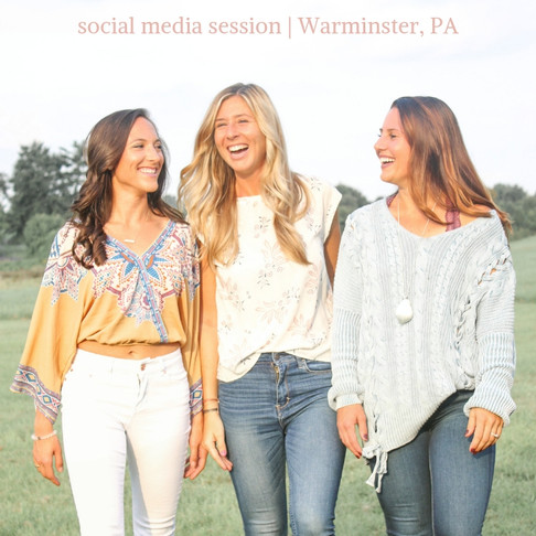 Social Media Photo Session with some Powerhouse Ladies | Warminster, PA