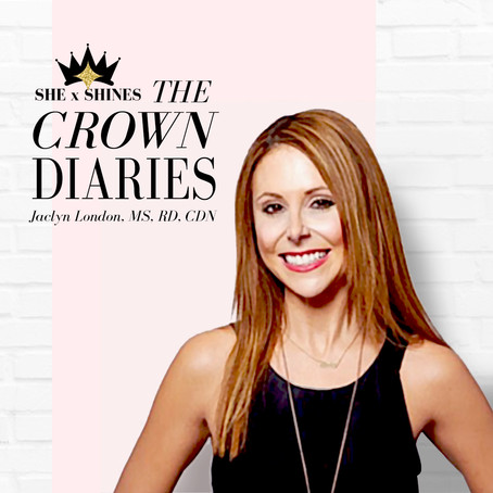 The Crown Diaries: Jaclyn London, Author, Head of Nutrition & Wellness at WW