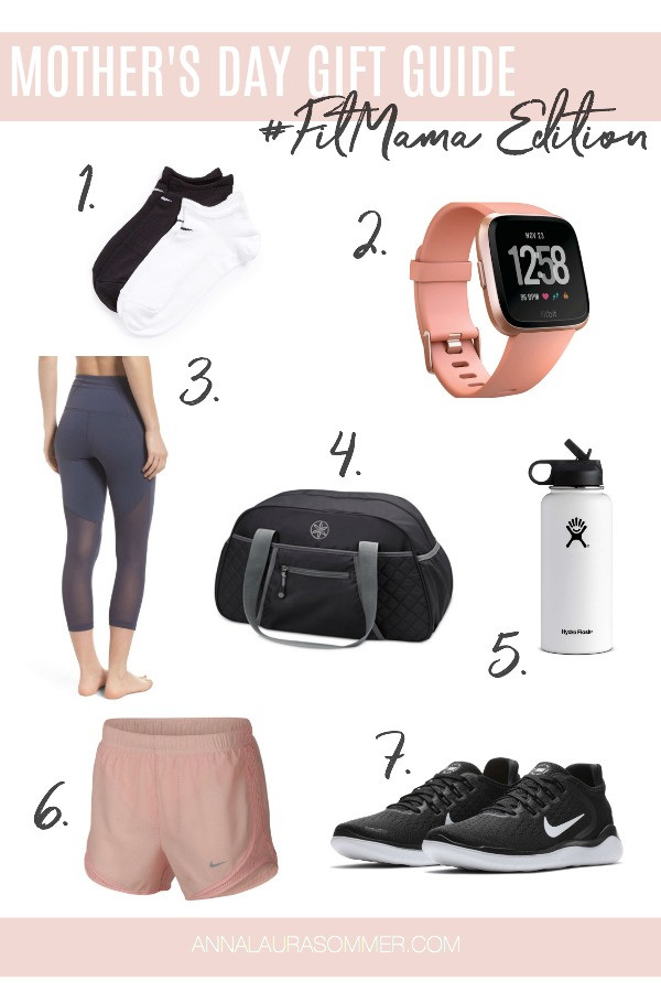 Fitness Gift Ideas for Mother's Day, by Anna Laura Sommer