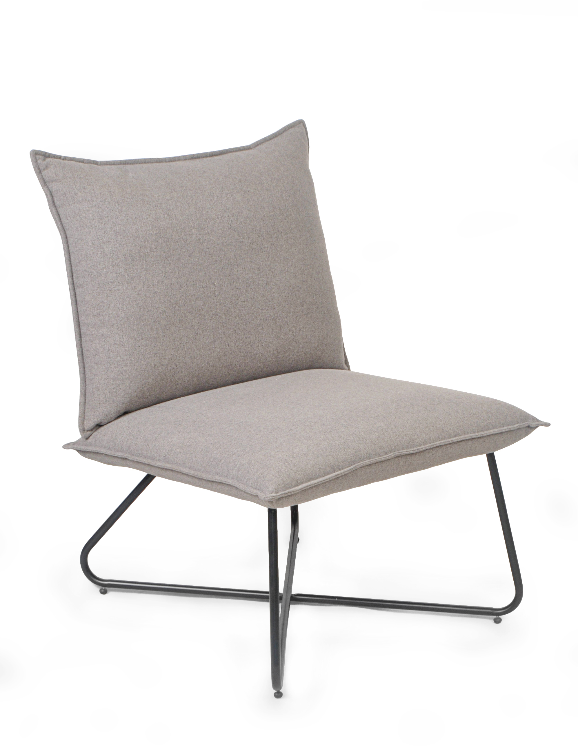 ID-LOW PHIL CROSS LEGS CHAIR WITH FOOTRE