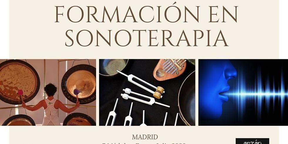 FORMACIÓN EN SONOTERAPIA MADRID