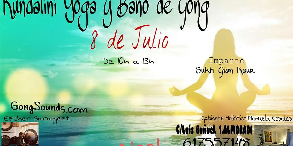 Kundalini Yoga y Baño de Gong