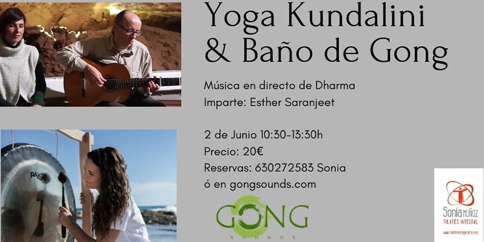 YOGA KUNDALINI & BAÑO DE GONG