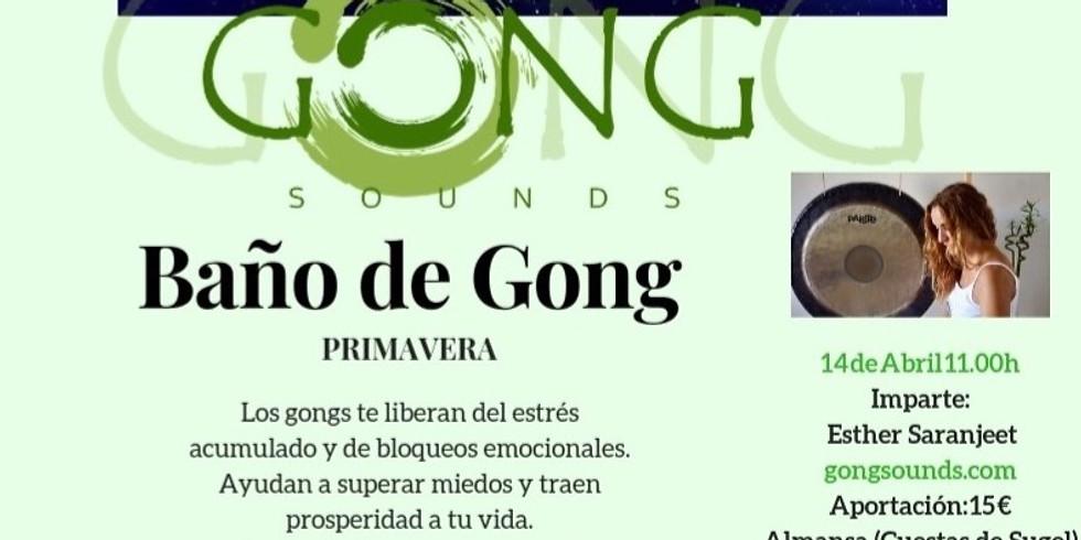 BAÑO DE GONG PRIMAVERA
