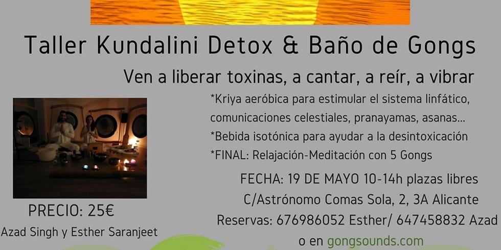 Taller Kundalini Detox & Baño de Gongs 2