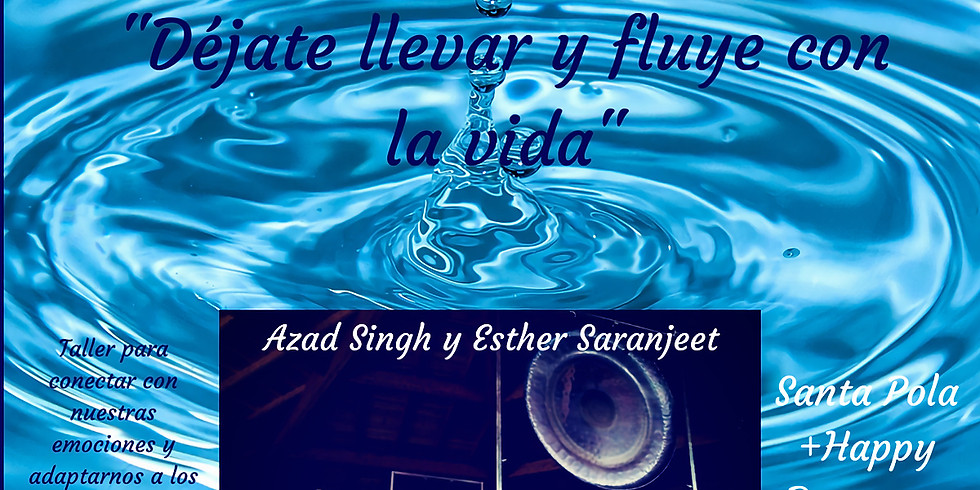 "Taller de Kundalini y Baño de Gong ""Elemento Agua"""