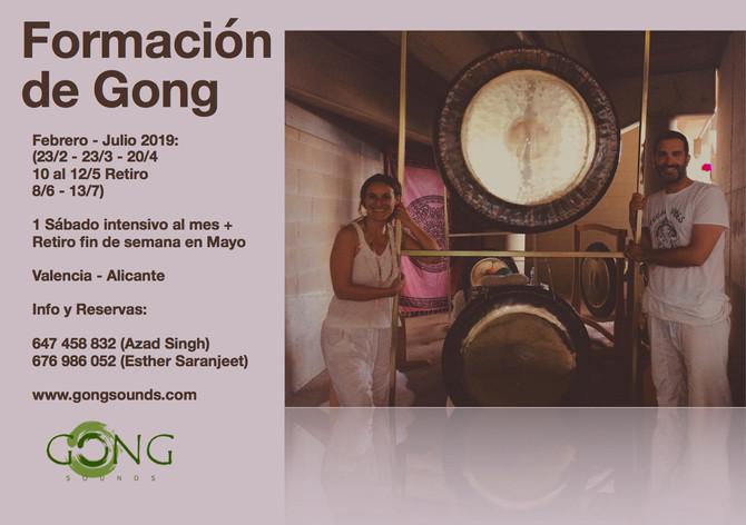Formación de Gong - Fechas -