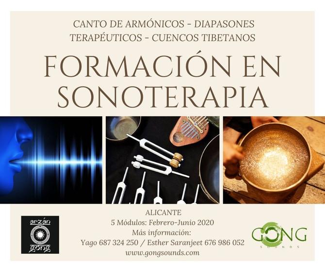 FORMACIÓN EN SONOTERAPIA ALICANTE