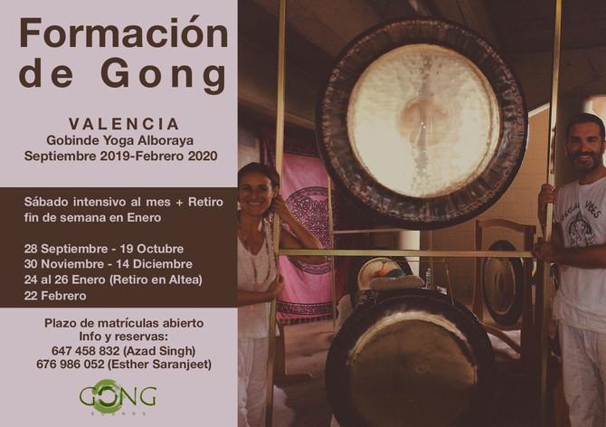 Formación de Gong en Valencia