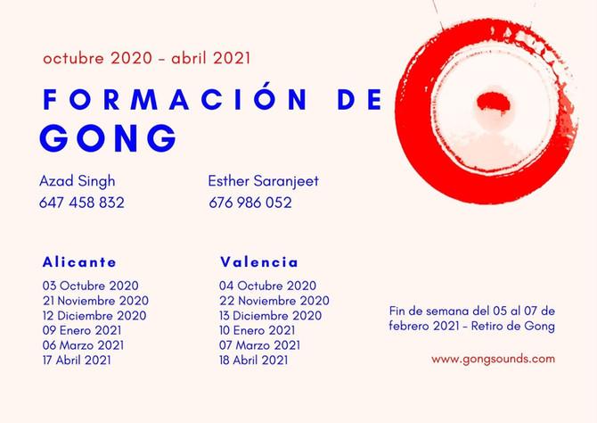 FORMACIÓN DE GONG 2020-2021