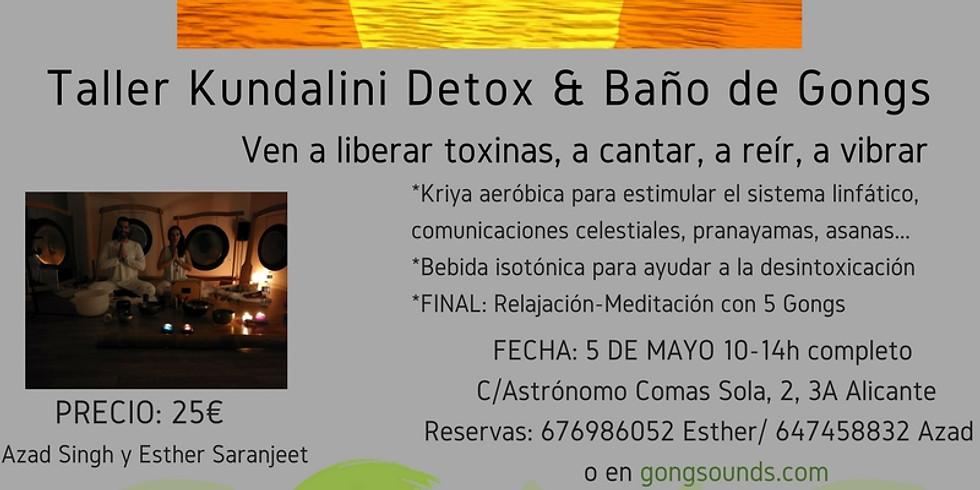 Taller Kundalini Detox & Baño de Gongs 1