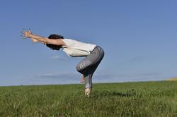 Dehnung Piriformis, Rückenkraft