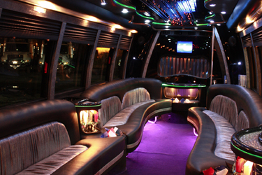 24 Passenger Party Bus With Bathroom