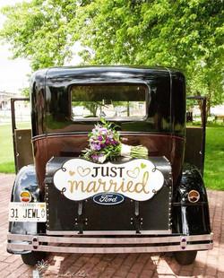 Vintage Rolls Royce Wedding Transportation