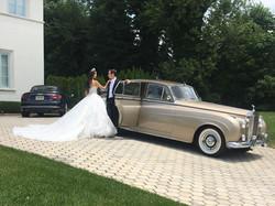 Vintage Rolls Royce - Gold 007