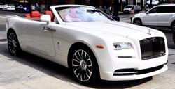 Chauffeured Rolls Royce Dawn