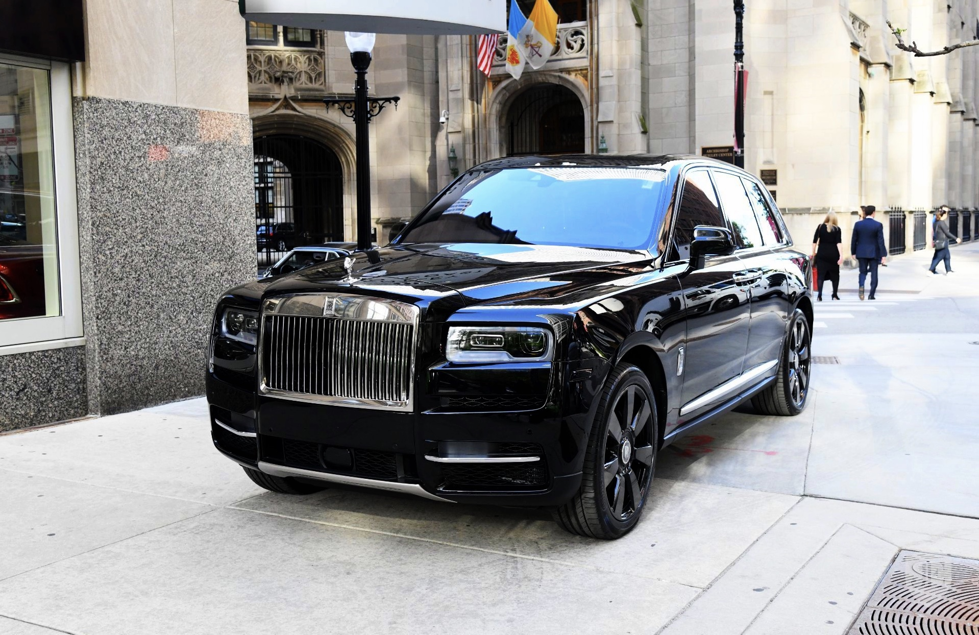Luxury Chauffeured Rolls Royce SUV