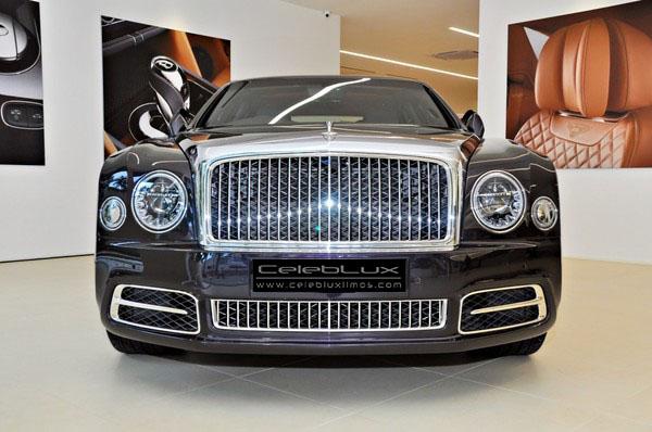 Chauffeured Bentley Mulsanne
