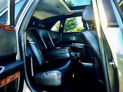 Silver/Grey Rolls Royce Tux Interior