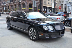 Chauffeured Bentley Flying Spur