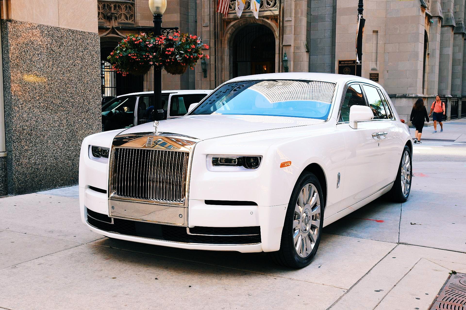 2019 Rolls Phantom White
