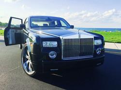 Two Tone Black & Silver Rolls Royce