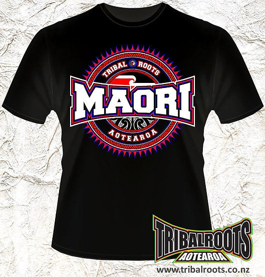 MAORI CIRCLE T-SHIRT
