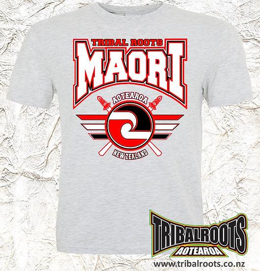 MAORI GREY T-SHIRT