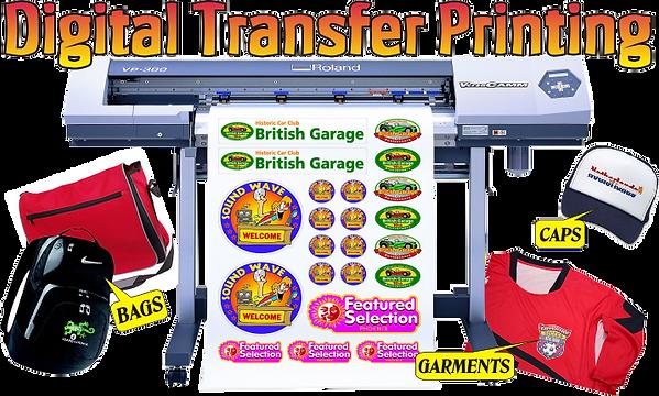 Digital And Transfer Printing