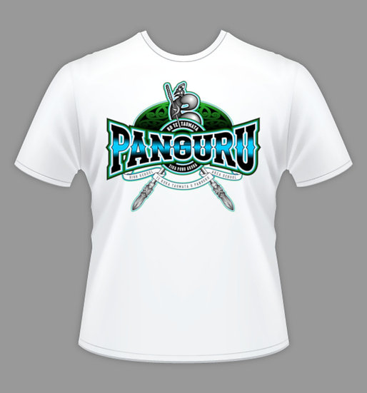 PANGURU ADULT WHITE T-SHIRT