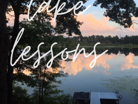 Lake Lessons: Nature + Mindfulness = Joy