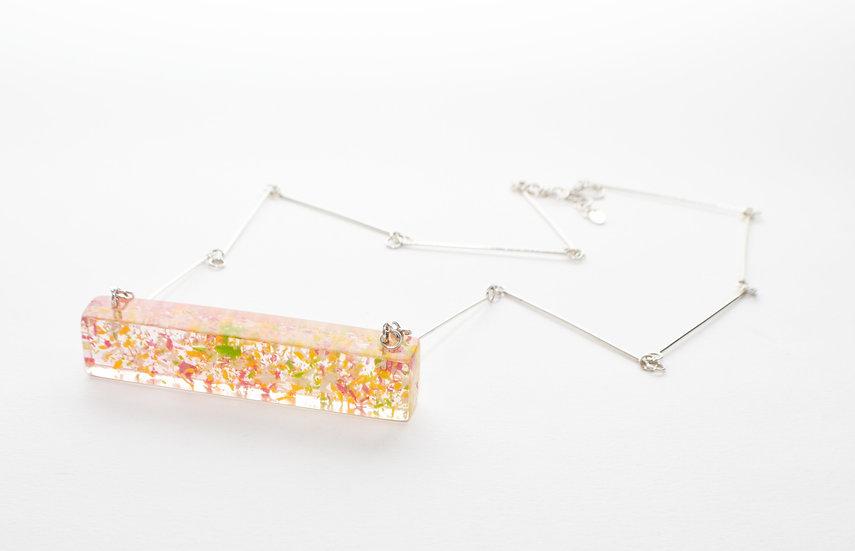 Springtime Bar necklace