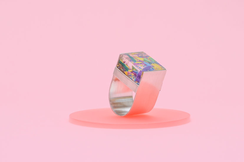 Statement D Ring