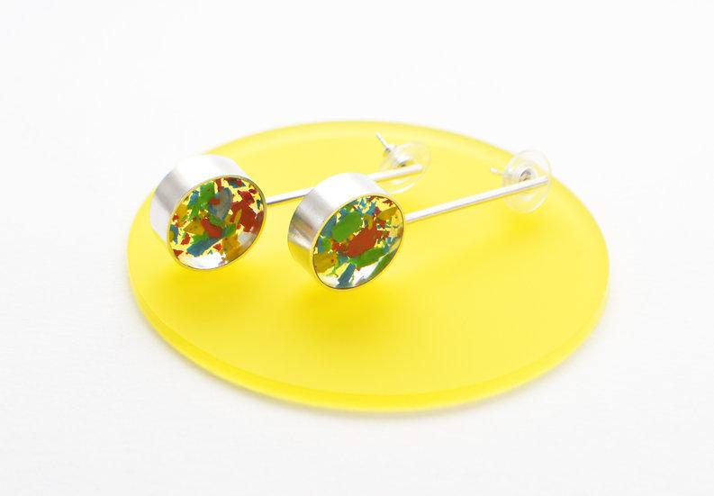 Statement Circle Drop Earrings
