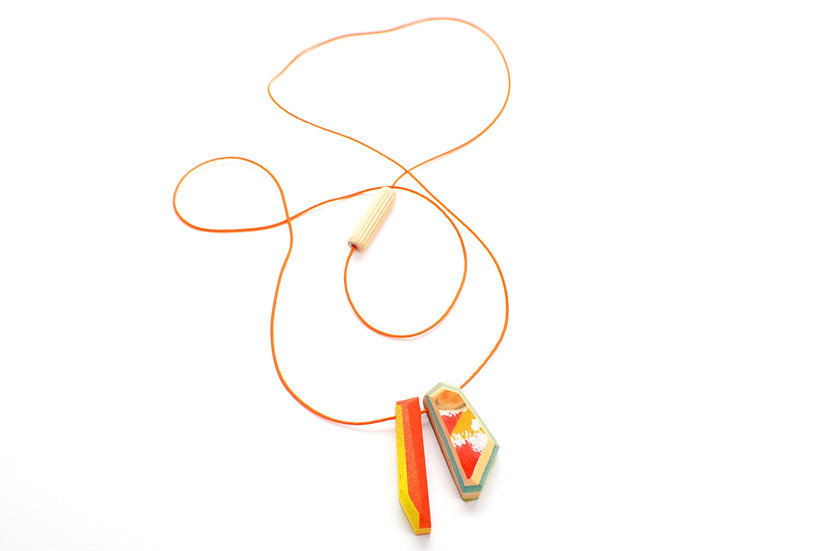 DUO SHARD NECKLACE