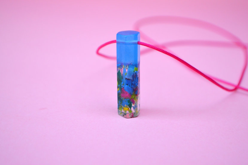 Minimal Resin Pendant
