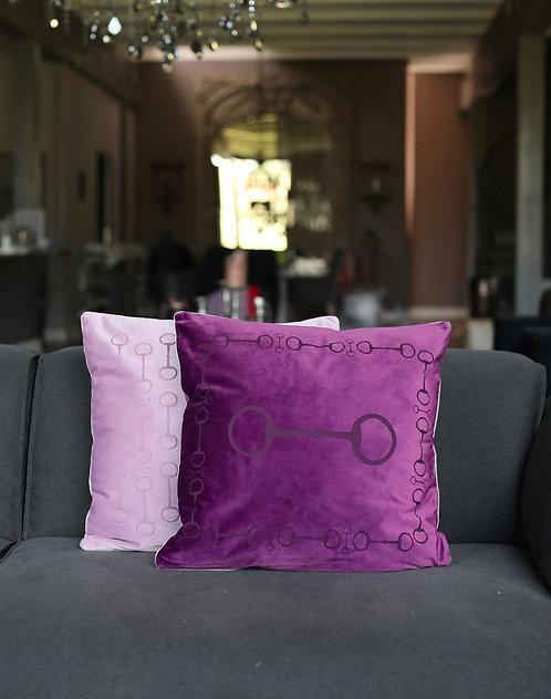 Pillow snaffle 50x50 purple