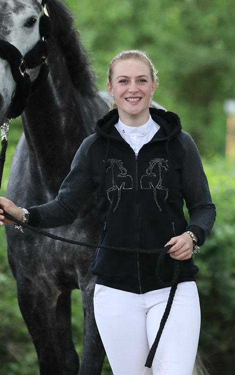Zipper Horses black