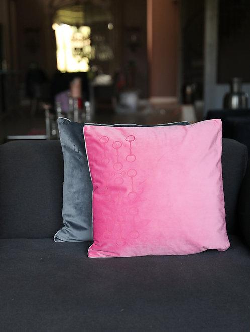 Kissen Trense 50x50 pink