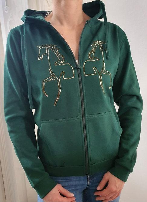Zipper Horses green