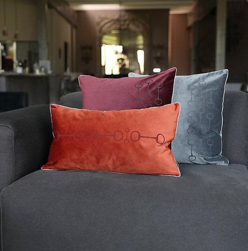 Pillow snaffle 35x60 rust