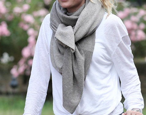 Cashmere Scarf taupe