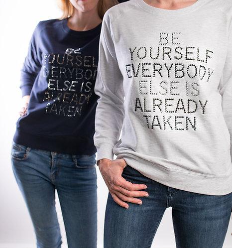 Sweater BeYourself grey