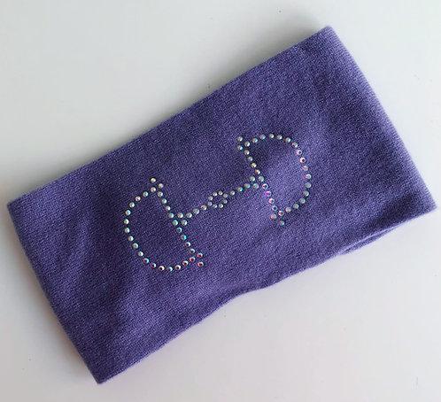 Cashmere Headband lilac