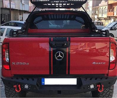 Mercedes XClas Metal Arka Tampon