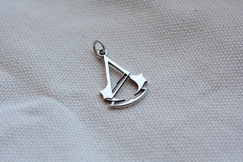 Assasin's pendant Sterling Silver
