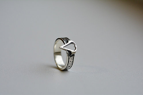 Assasin's Creed Ring Sterling Silver