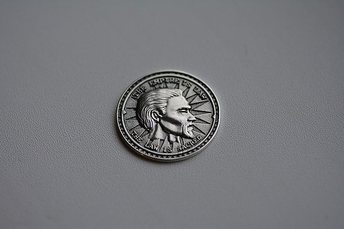 The Elder Scrolls Septim Coin Sterling Silver