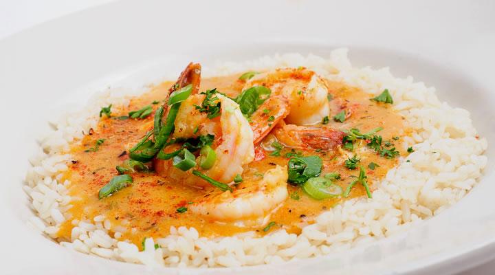 shrimp and crawfish ettouffee